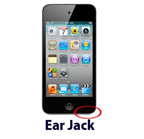 iPod touch 4g ear jack repair